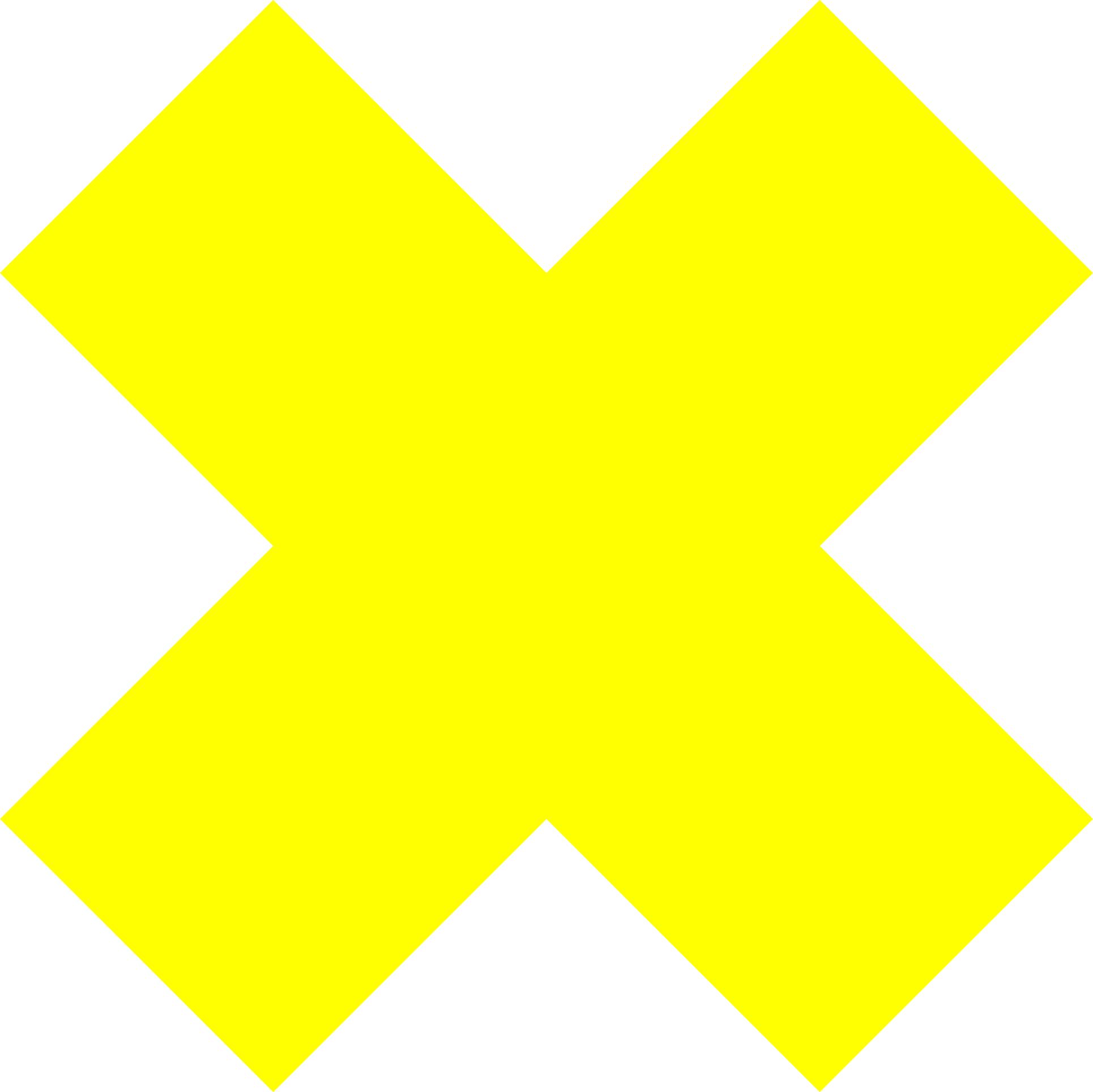 CrimScapes Logo, yellow cross