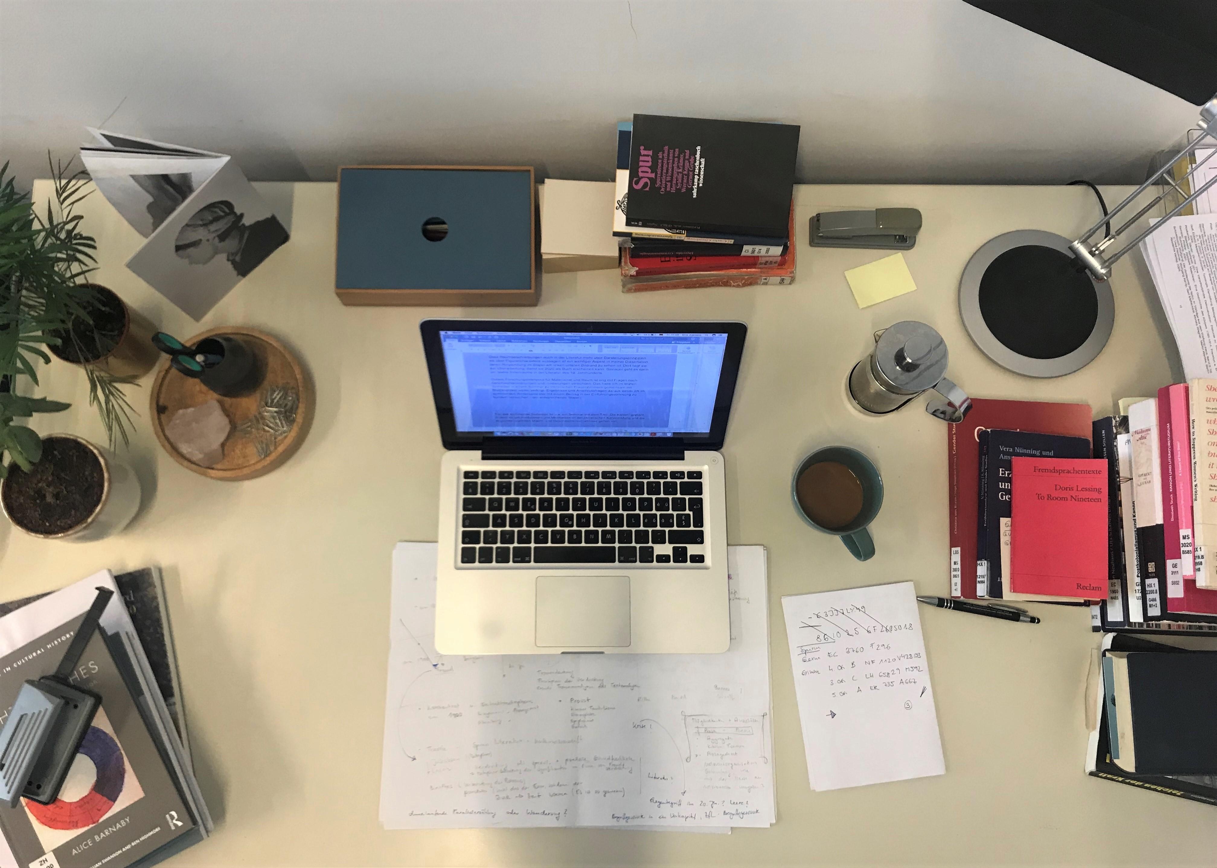 Kira Jürjens – Mein Schreibtisch
