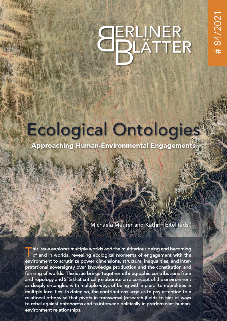 Titelbild Ecological Ontologies
