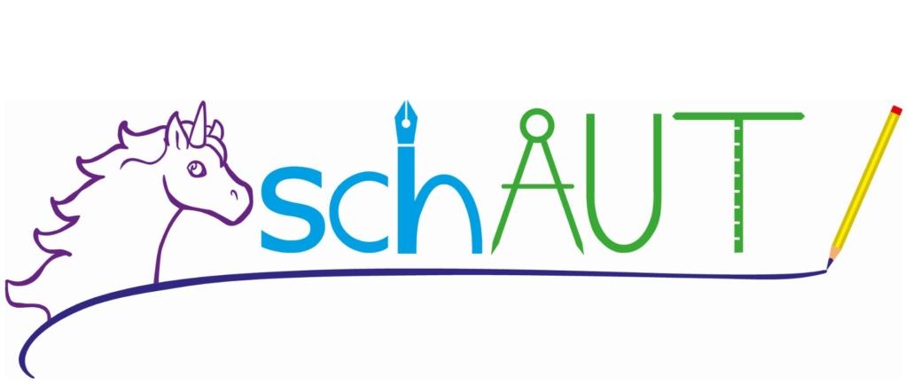 Logo schAUT in farbig