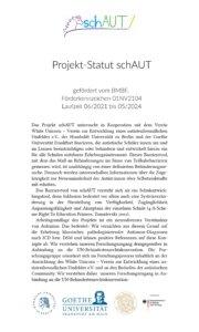 schAUT-Statut